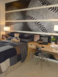 bedroom wall murals for adults wall murals decals sports themed interiors