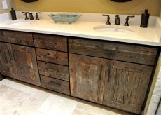 reclaimed wood kitchen cabinetry ultra faucets