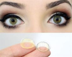 lente de contato mel hidrocor solotica lentes de contato solotica hidrocor ambar r 96 90 em mercado livre