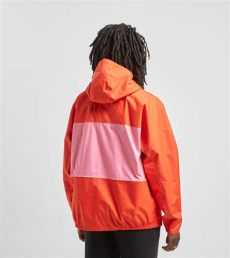 nike acg jacket red nike synthetic acg packable jacket in for lyst