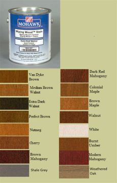 mohawk wiping wood stain - Mohawk Paints And Stains