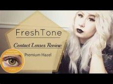 freshtone contact lenses review review freshtone premium hazel contact lenses