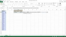 at least symbol in excel excel formula to find the least frequent value