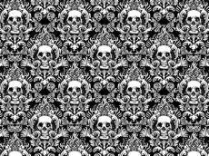 sugar skull damask wallpaper pin by peraltatita on sugar skulls wallpaper damask black and white wallpaper