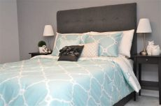 tiffany blue and damask bedroom kalbs yules guest room make