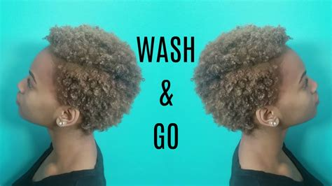 wash routine short natural 4c hair youtube