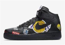 supreme air force 1 nba black supreme nba nike air 1 mid aq8017 001 sneaker bar detroit