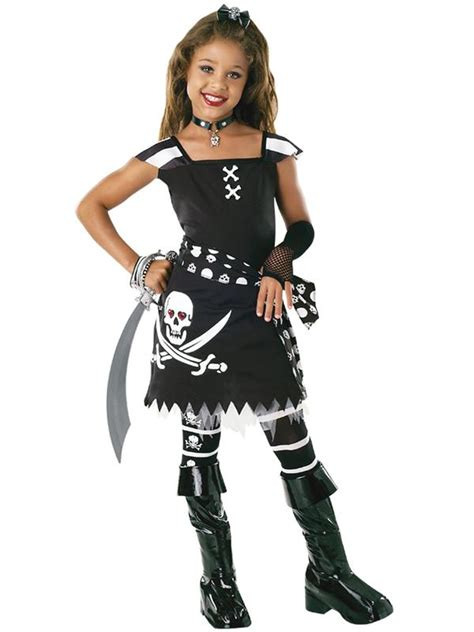 girls halloween costumes gothic princess pirate witch fancy