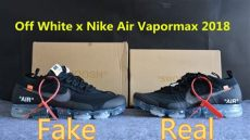 nike vapormax x off white fake look real vs white x nike air vapormax black 2018 comparison