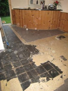 asbestos in flooring this fresh fossil our asbestos adventure what not to do when remodeling part 4