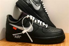 nike x off white the ten air force 1 low black moma x white x nike air 1 07 sneakers magazine