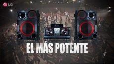 equipo de sonido lg lg x boom el equipo de sonido potente