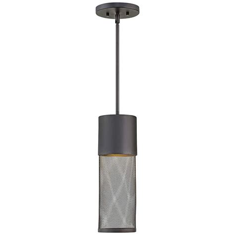 hinkley atwell 11 high aged zinc outdoor hanging