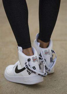 nike x supreme air 1 high sweat the style - Nike Air Force 1 High Supreme
