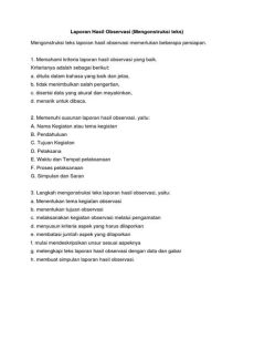 Langkah Langkah Menyusun Teks Hasil Observasi : langkah, menyusun, hasil, observasi, Langkah, Menyusun, Hasil, Observasi, Sekali