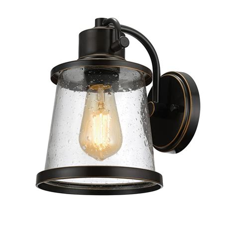 globe electric charlie collection 1 light oil rubbed