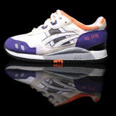 asics gel lyte iii og white purple orange colorway footlocker sneakernews - Asics Gel Lyte Iii Og Colorway