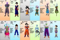 201 pingl 233 par bayern sur z zodiac signs - Dragon Ball Z Zodiac Signs