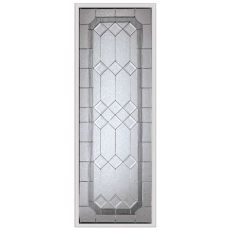 odl door glass inserts home depot odl majestic 20 inch x 64 inch nickel caming with hp frame the home depot canada