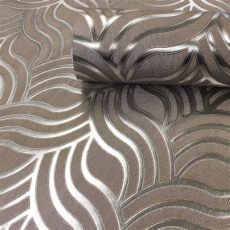 art deco wallpaper silver precious silks deco silver gold wallpaper muriva