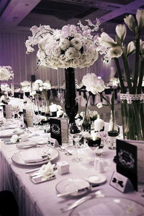 black white wedding centerpieces wedding stuff ideas