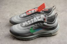 off white x nike air max 97 2018 white x nike air max 97 white green s and s size aj4585 012 with sneaker