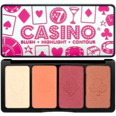 w7 casino blush palette review w7 cosmetics casino blush highlight contour palette free delivery justmylook