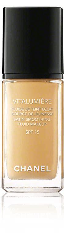 chanel vitalumiere fluide de teint eclat chanel vitalumi 232 re fluide de teint 201 clat 40 beige gt 6 reduziert