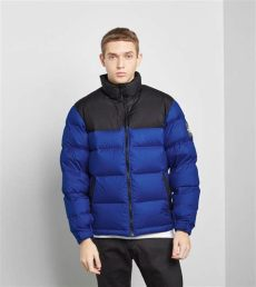 north face 1992 nuptse black lyst the 1992 nuptse jacket in blue for