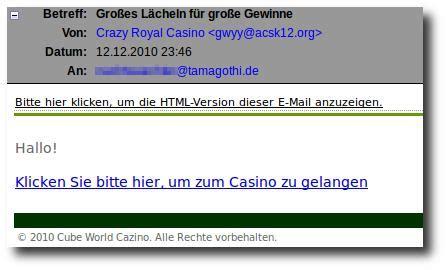 html version unser äglich spam