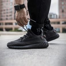 yeezy 350 v2 static reflective black adidas yeezy boost 350 v2 static black non reflective kick