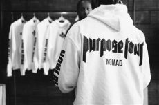 purpose tour merch hoodie inside justin bieber s purpose tour merch pop up shop at nomad in toronto fashion magazine