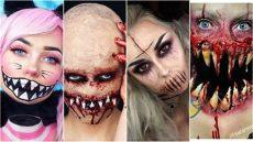 walmart maquillaje para halloween los tutoriales de maquillaje m 225 s terror 237 ficos para