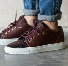 mason garments shoes garments sneakers fashion shoes mens burgundy sneakers
