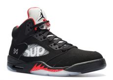 air jordan 5 retro supreme white air 5 retro supreme quot supreme quot air 824371 001 black white varsity
