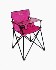 silla periquera walmart ciao baby ciao baby portable high chair in pink the paper store