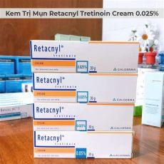 retacnyl cream from galderma kem trị mụn retacnyl tretinoin 0 025 galderma 30g vivmart