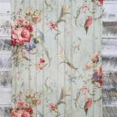 country cottage floral wallpaper bird cottage floral wallpaper ha1326