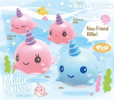 squishy ibloom millie the whale ibloom millie and billie the whale squishy