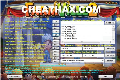 farmville 2 cheat multi hack cheat port