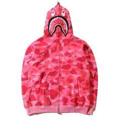 bape sweater pink s shark jaw camo ape bape hoodie jacket zipper jacket sweat coat ape bape ebay