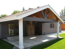 gable end patio cover plans gable end patio cover with skylight salem tnt builders patio skylights and patio