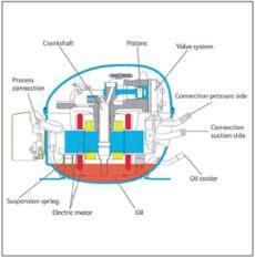 como es un compresor de nevera por dentro friobat neveras a 12v y 24v especificas para este uso mejor que con convertidor