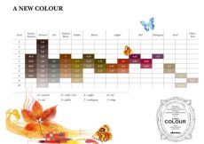 davines mask with vibrachrom color chart davines a new colour shades chart hair color chart hair and salon color