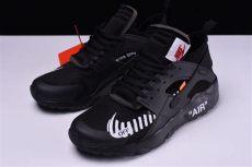 nike x off white shoes black 2018 white x nike air huarache ultra black white shoes sneakers aa3841 001