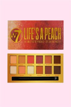 w7 palette lifes a peach w7 lifes a warm neutrals 14 matte shimmer shade eyeshadow palette makeup from