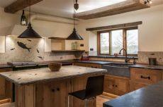 ideas para desayunadores de cocina rusticos 8 desayunadores r 250 sticos que quedar 225 n incre 237 bles en tu cocina