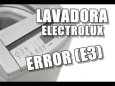 lavadora electrolux error e3 - Error E3 Lavadora Frigidaire