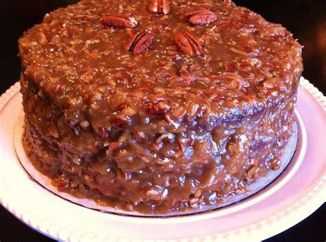 german chocolate cake coconut pecan frosting recipe pinch