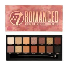 w7 eyeshadow palette w7 romanced eyeshadow palette
